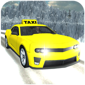 Taxi Driving Games : Hill Taxi Driver 3D 2017 icon