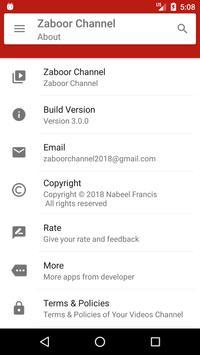 Zaboor Channel screenshot 7