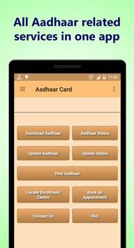 1 Click Aadhaar Solution poster