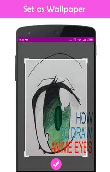 How to Draw Anime Eyes apk screenshot