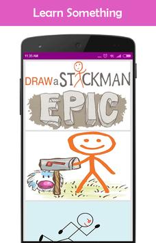 How to Draw a Stickman poster