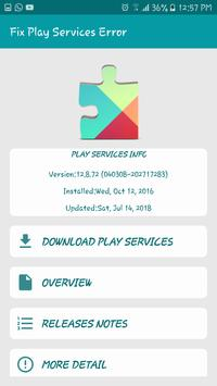 Fix Play Store & Google Play Services Error 截图 1