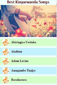 Kinyarwanda Songs poster
