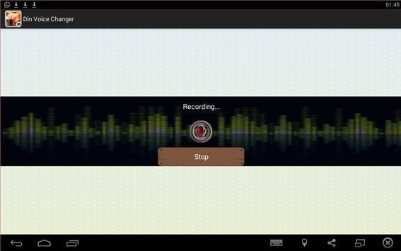 change my voice 2016 apk screenshot
