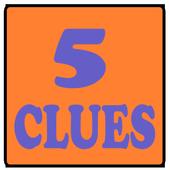 CRAZY 5 CLUES icon