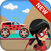 Miraculous LadyBug Driving icon