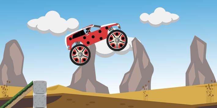 Miraculous LadyBug Driving apk screenshot
