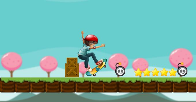 Skater Boy Subway Guardian apk screenshot
