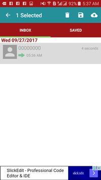 برنامج تسجيل المكالمات screenshot 1