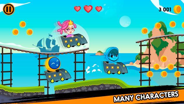 Storm race in underworld apk screenshot