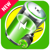 Fast battery chargers icon