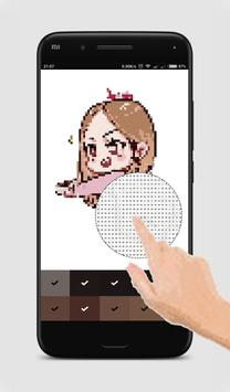 Black Pink Pixel Art screenshot 1
