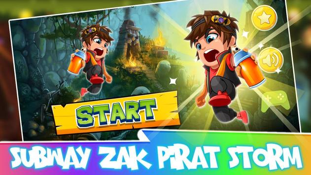 Subway Zak Hero - Pirat Storm poster