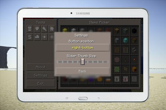 Pocket Manager Mod Minecraft apk screenshot