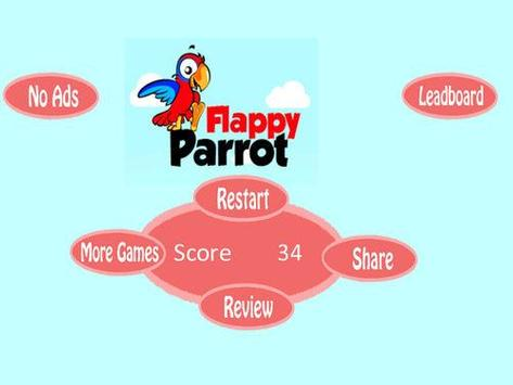 Angry flappy parrot screenshot 1