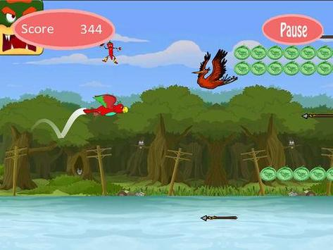 Angry flappy parrot screenshot 5