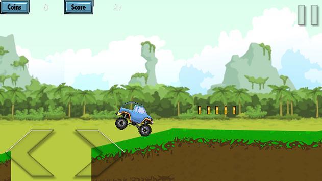 crazy hill climbing apk screenshot