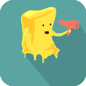Sticky jelly the butter jump icon