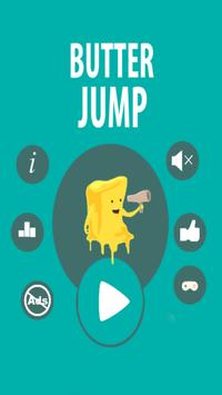 Sticky jelly the butter jump poster