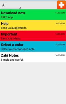 Zahi Notes poster