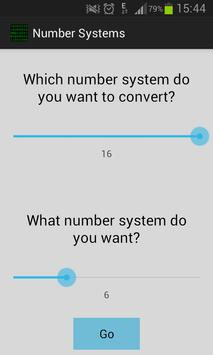 Number Systems - Free poster