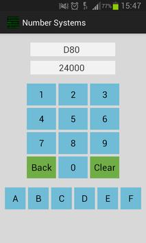 Number Systems - Free screenshot 1