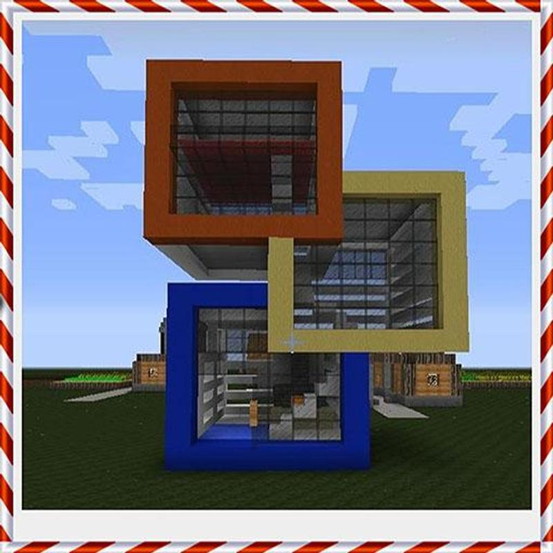 Modern Minecraft House Design For Android: Modern Minecraft House Ideas For Android