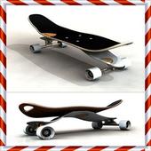 Skateboard Design Ideas icon