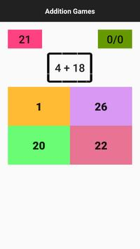 Math : Addition Quiz screenshot 1