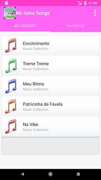 Mc Loma Musica Letras screenshot 3