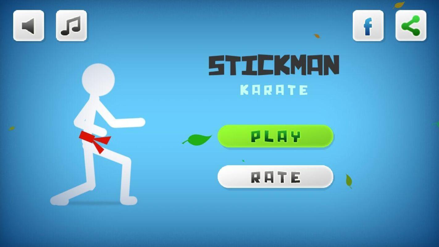 stickman karate games