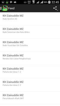 Ceramah KH. Zainuddin MZ screenshot 1