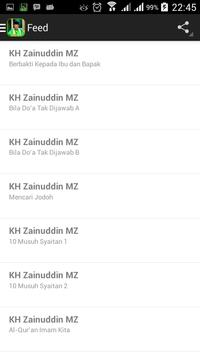 Ceramah KH. Zainuddin MZ screenshot 2