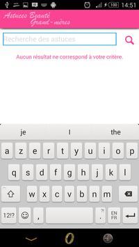 Astuces Beauté Grand-mères apk screenshot