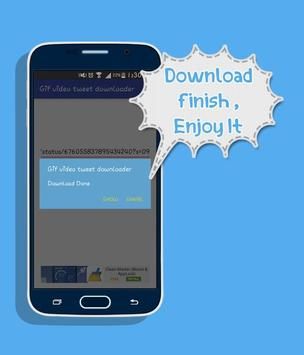 Video  & GIF Tweet Downloader apk screenshot