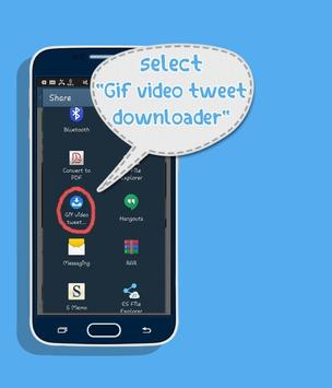 Video  & GIF Tweet Downloader 스크린샷 1