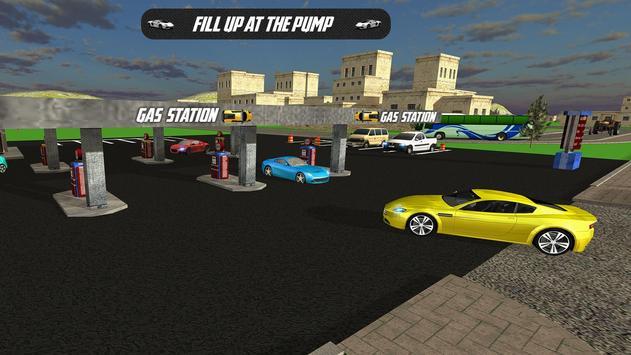 Crazy Car Gas Station Parking apk screenshot