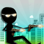 Angry Stickman Sniper Shooter icon