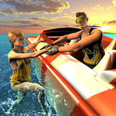 Beach Rescue Lifeguard Game icon