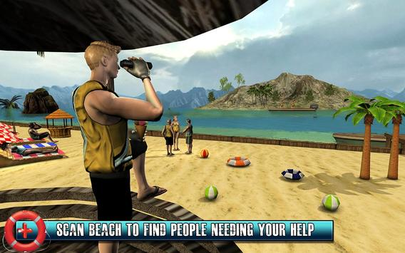 Beach Rescue Lifeguard Game screenshot 10