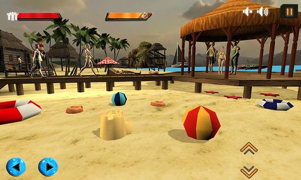 Beach Rescue Lifeguard Game screenshot 1
