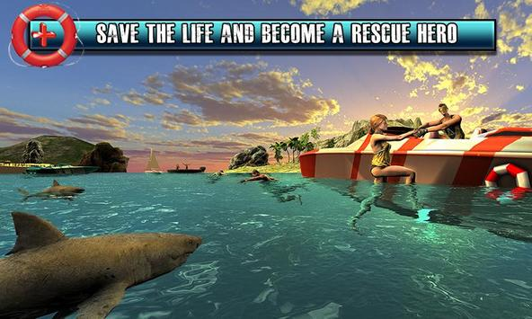 Beach Rescue Lifeguard Game screenshot 2