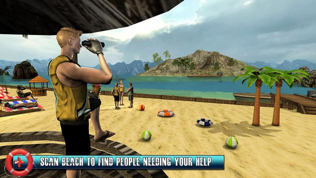 Beach Rescue Lifeguard Game screenshot 5