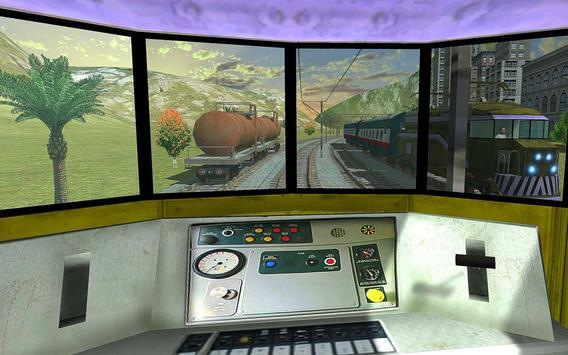 Driving Fast Train Sim 2017 apk screenshot