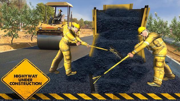 Road Builder : Highway Construction Game screenshot 6