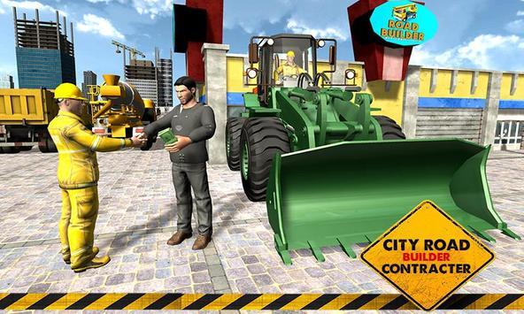 Road Builder : Highway Construction Game screenshot 1
