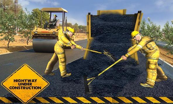Road Builder : Highway Construction Game screenshot 2
