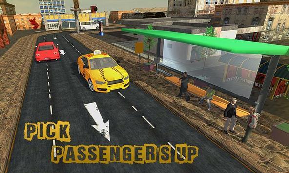 Taxi Driver Traffic Rush apk screenshot