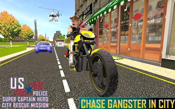 US Police Super Captain Hero City Rescue Mission screenshot 8