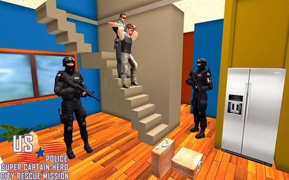 US Police Super Captain Hero City Rescue Mission screenshot 9